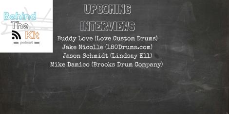 Upcoming Interviews