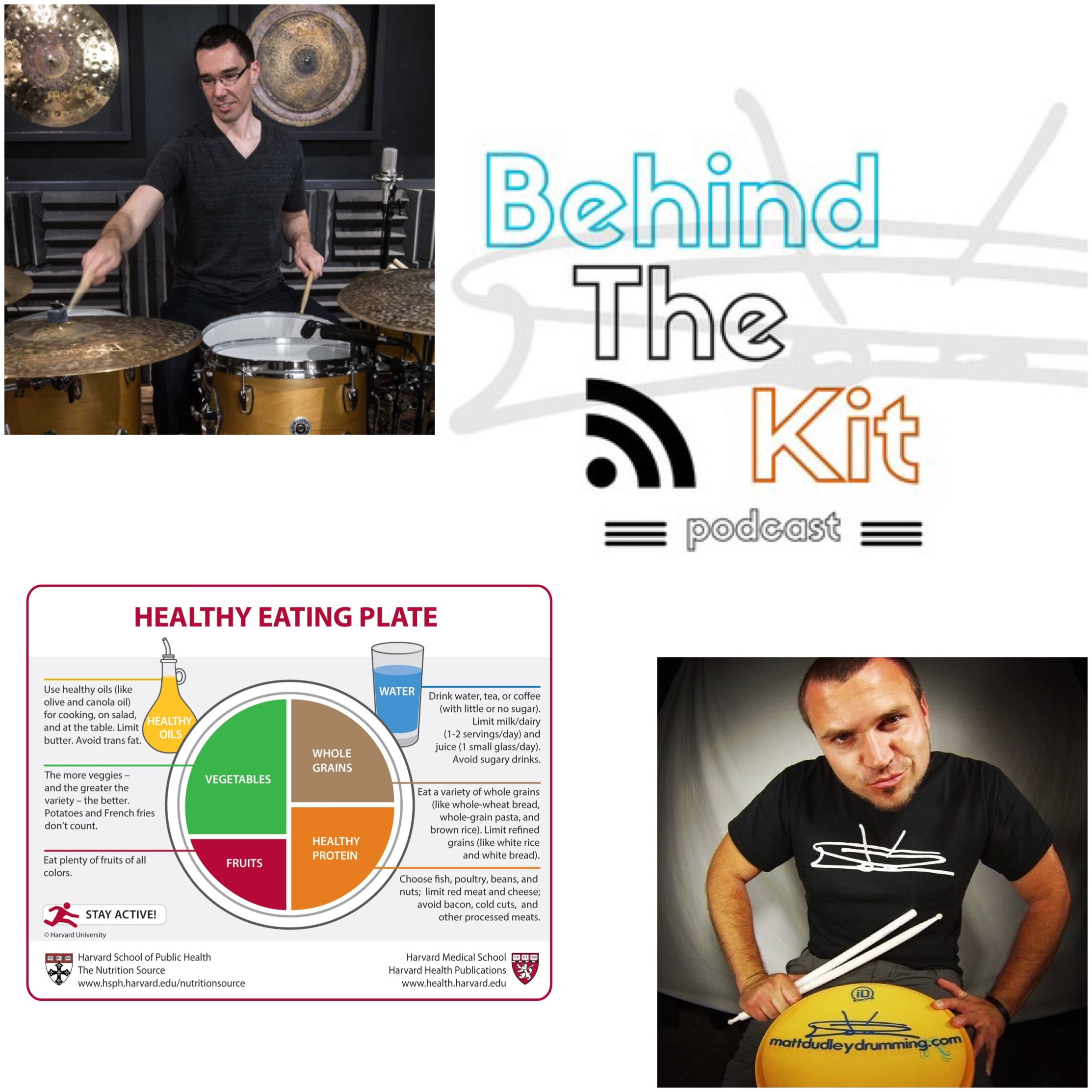 Behind The Kit Podcast episode #57 Nutrition |