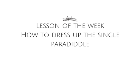 dress-up-the-single-paradiddle